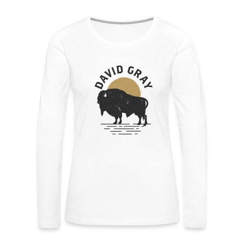 DG_Buffalo_Womens_Longsleeve - Women's Premium Long Sleeve T-Shirt