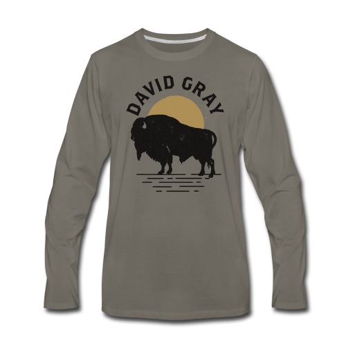 DG_Buffalo_Mens_Longsleeve - Men's Premium Long Sleeve T-Shirt