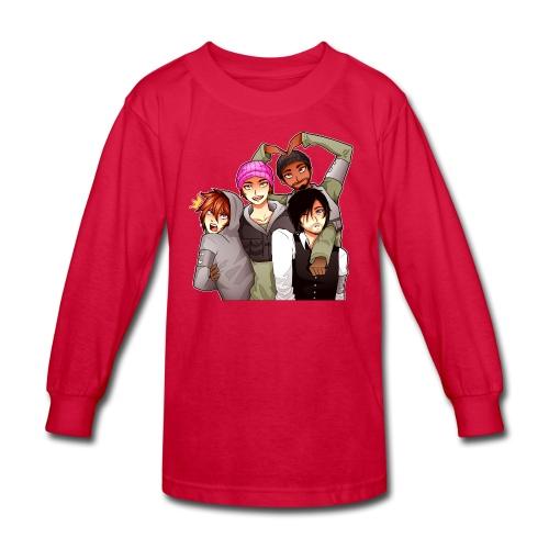 The P.I.E Team - Kids' Long Sleeve T-Shirt