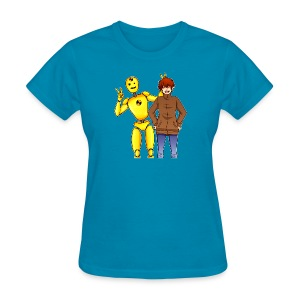 Josh & Dummy - Women's T-Shirt