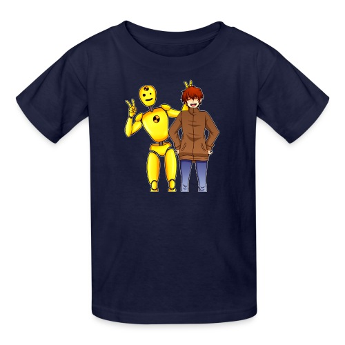 Josh & Dummy - Kids' T-Shirt