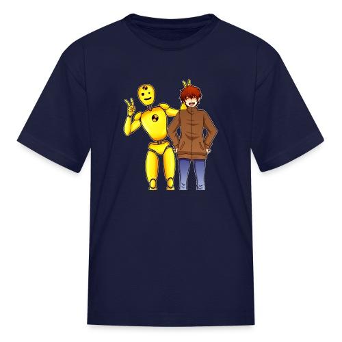Josh & Dummy - Kids' T-Shirt