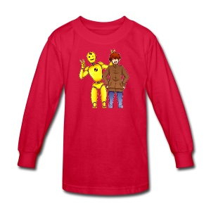 Josh & Dummy - Kids' Long Sleeve T-Shirt