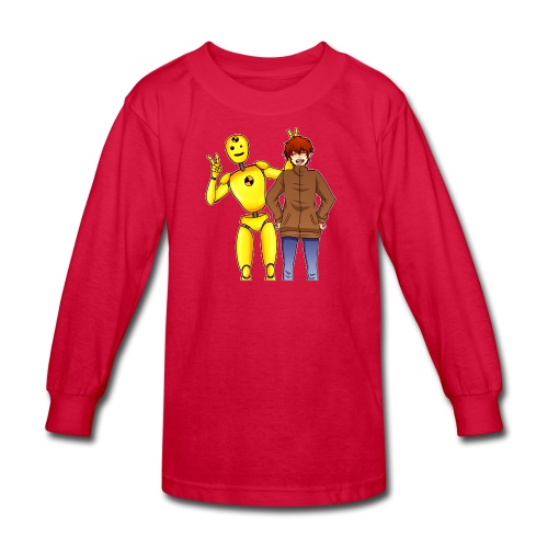 Josh & Dummy - Kids' Long Sleeve T-Shirt