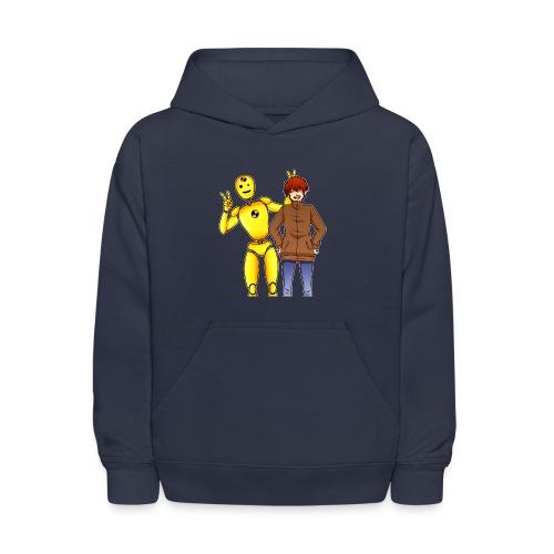 Josh & Dummy - Kids' Hoodie