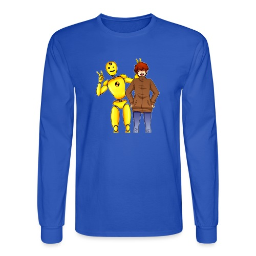 Josh & Dummy - Men's Long Sleeve T-Shirt