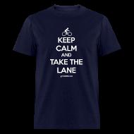T-Shirts ~ Men's T-Shirt ~ TAKE THE LANE - Men's