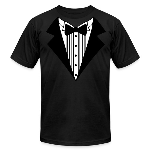 Great Tuxedo - Men's Fine Jersey T-Shirt