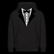 Hoodies ~ Men's Hoodie ~ Great Tuxedo