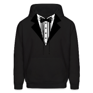 Hoodies ~ Men's Hoodie ~ Great Tuxedo