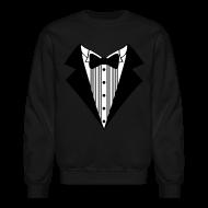 Long Sleeve Shirts ~ Crewneck Sweatshirt ~ Great Tuxedo