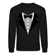 Long Sleeve Shirts ~ Crewneck Sweatshirt ~ Great Tuxedo