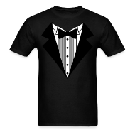 T-Shirts ~ Men's T-Shirt ~ Great Tuxedo