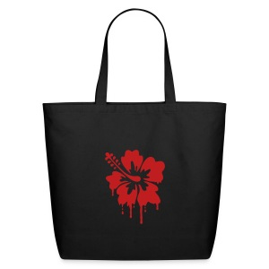 Dripping Hibiscus FLOCK - Eco-Friendly Cotton Tote