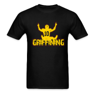 T-Shirts ~ Men's T-Shirt ~ Griffining Shirt on Black