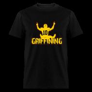 T-Shirts ~ Men's T-Shirt ~ Griffining Shirt on Black