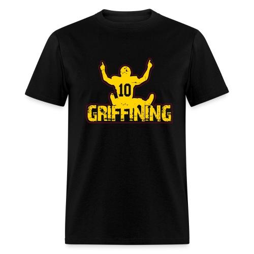 Griffining Shirt on Black - Men's T-Shirt