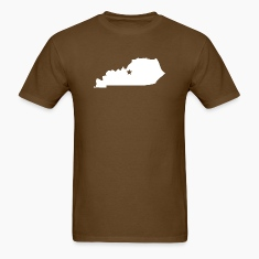 Kentucky Silhouette Star T-Shirts
