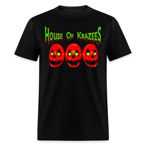 House Of Krazees - Parental Advisory: Krazee Lyrics - Men's T-Shirt