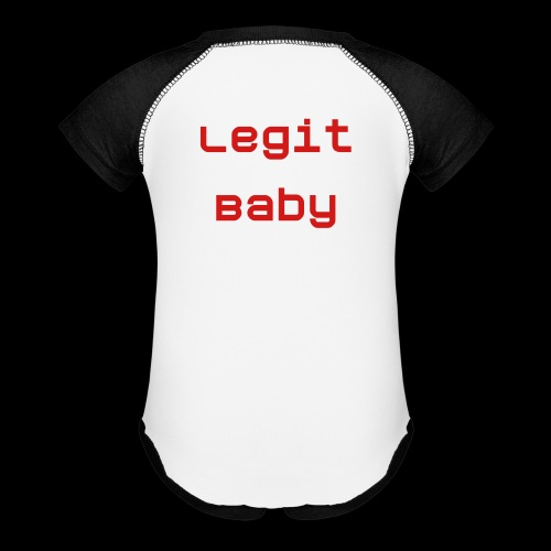 The Legit Baby   - Baby Contrast One Piece