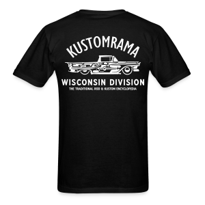 Kustomrama Wisconsin Division - Men's T-Shirt