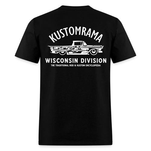 Kustomrama Wisconsin Division - Men's T-Shirt