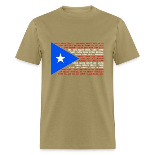 Puerto Rico Flag shirt - Men's T-Shirt