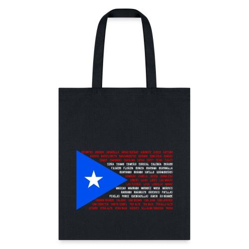 Puerto Rico Flag tote bag - Tote Bag