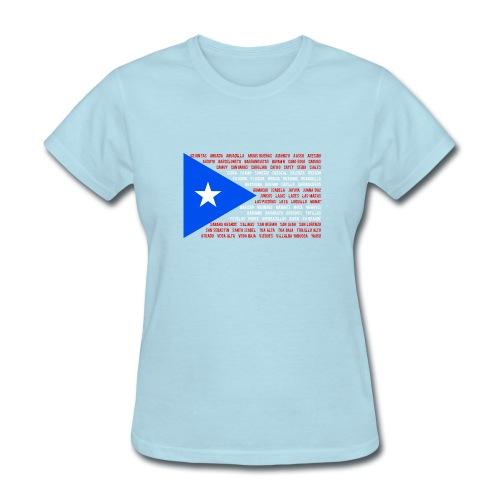 Puerto Rico Flag t-shirt - Women's T-Shirt