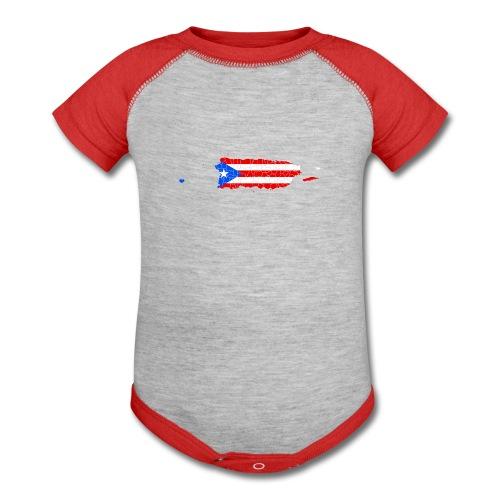 Puerto Rico Island baby one piece - Baby Contrast One Piece
