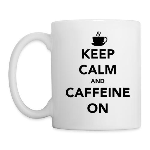 Keep Calm and Caffeine On | Coffee mug - Coffee/Tea Mug
