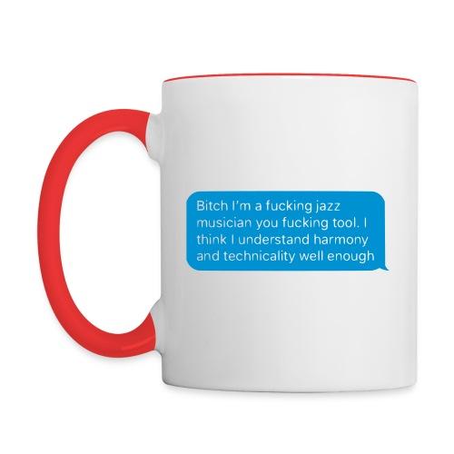 Ya like jazz? - Contrast Coffee Mug