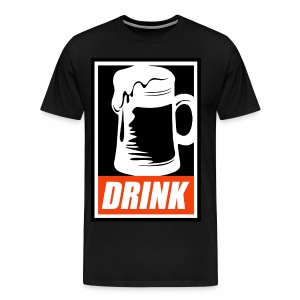 Obey: Drink - Men's Premium T-Shirt