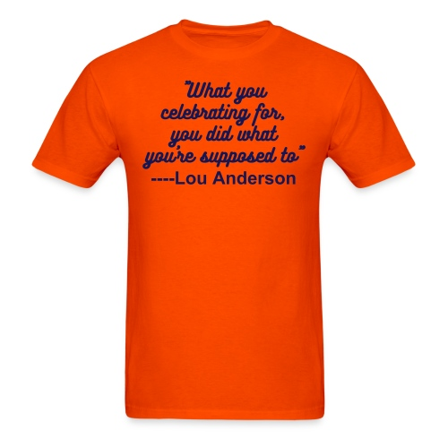 Anderson Quote - Men's T-Shirt