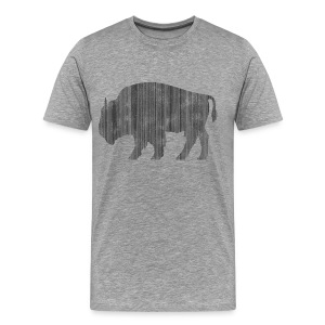 Buffalo Shirt - Men's Premium T-Shirt