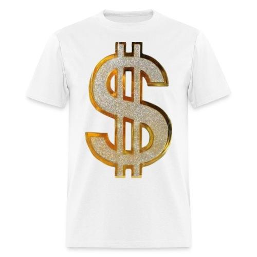 Diamond Dollar Sign - Men's T-Shirt