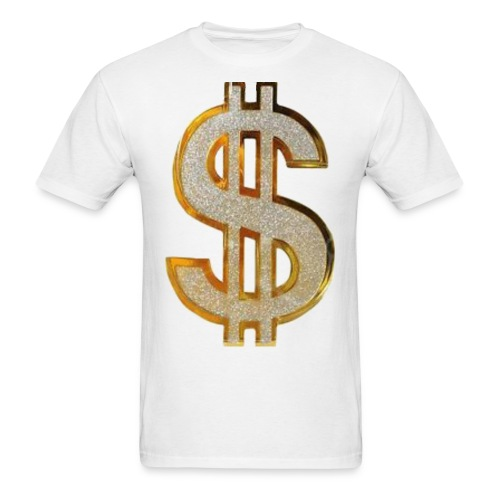 Diamond Dollar Sign T-Shirt - Men's T-Shirt