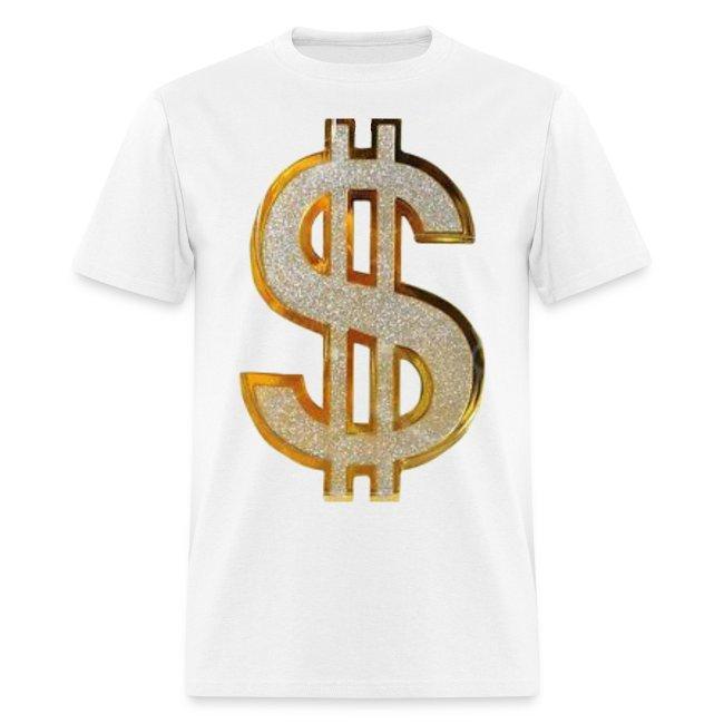 c042c42b9 PYGOD.COM | Diamond Dollar Sign T-Shirt - Mens T-Shirt