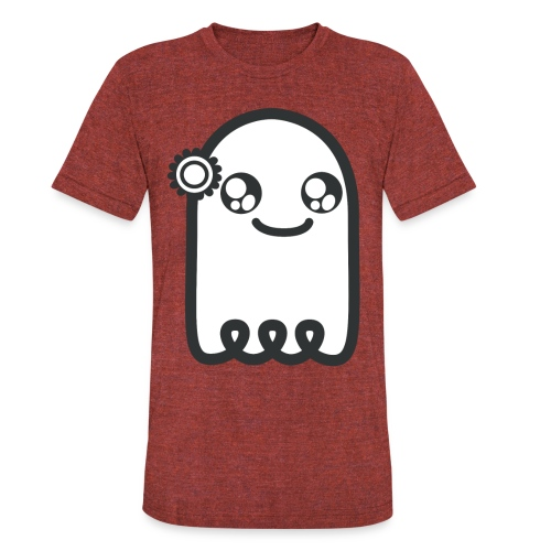 Men's Vintage t-shirt Gulliver the Ghost | Ghost Review - Unisex Tri-Blend T-Shirt