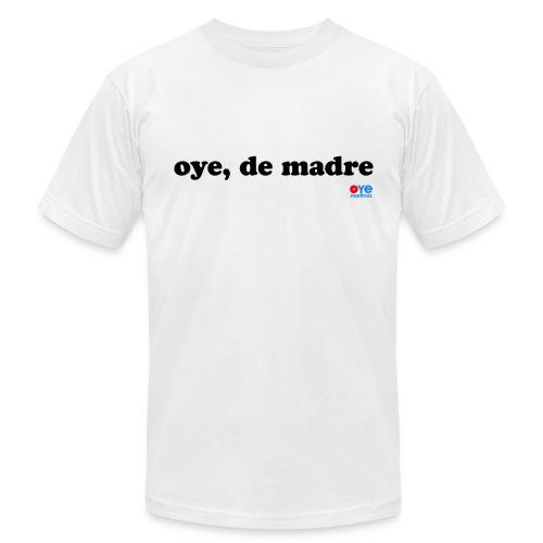 De Madre (Man Black Font) - Men's Fine Jersey T-Shirt