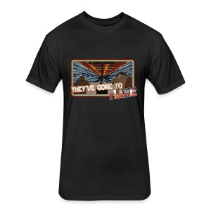 Ludicrous Speed...GO!!! - Fitted Cotton/Poly T-Shirt by Next Level