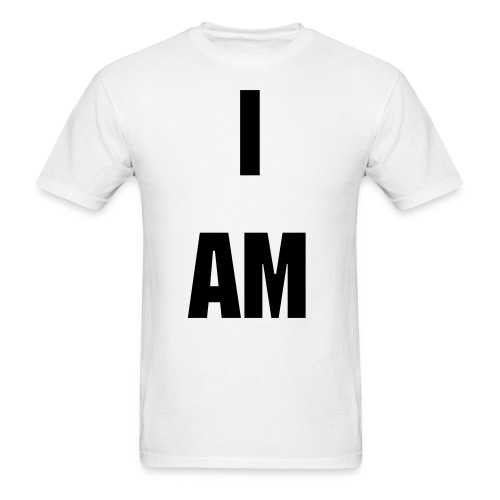 I am D&B (with back) - Men's T-Shirt