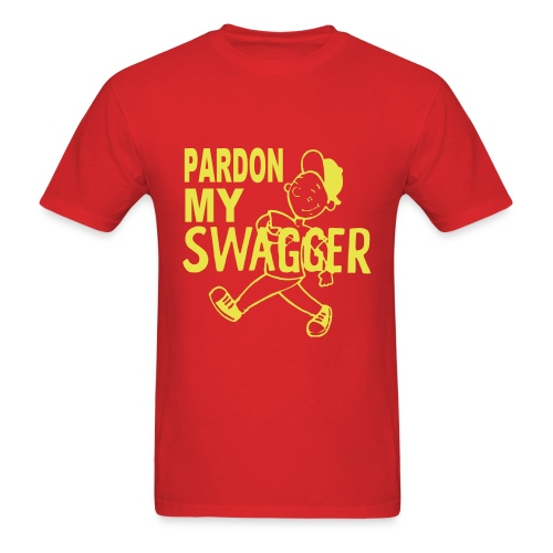 Swag Train All Aboard - Men's T-Shirt