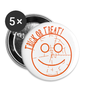 Trick or Treat - Large Buttons