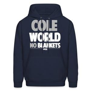Cole World (No Blankets / Grey / Hoodie) - Men's Hoodie