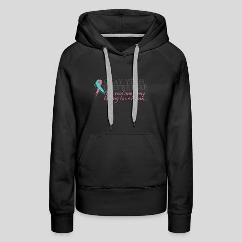 Okay yeah, they're fake BRCA #2 - Women's Premium Hoodie