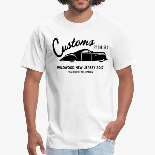 Customs by the Sea 2017 - White - Men's T-Shirt