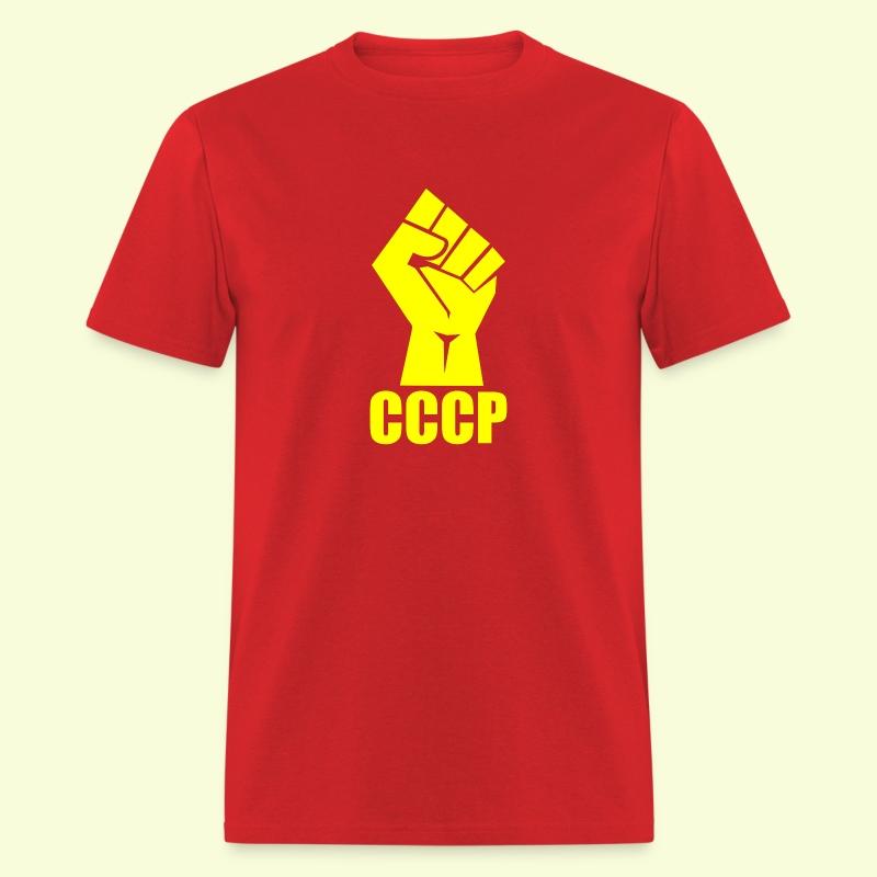 CCCP Fist - Men's T-Shirt