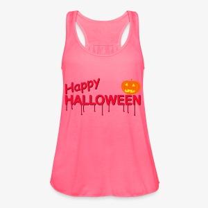 Happy Halloween - Women's Flowy Tank Top by Bella