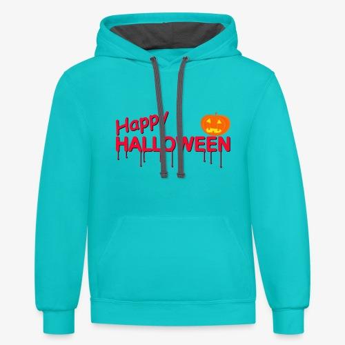 Happy Halloween - Contrast Hoodie